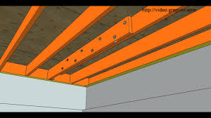 Sistering Floor Joists With Plywood by How To Repair Cut Or Damaged Floor Joist U2013 Bolting New Joist To