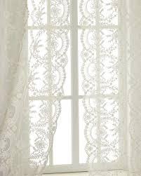 Battenburg Lace Curtains Ecru each 52