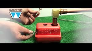 Woodford Outdoor Faucet Model 14 by Woodford Thermaline Water Connector Repair Video Youtube