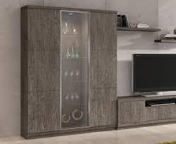 Modern Baixmoduls 3 Door Display Cabinet With Glass Doors Thumbnail