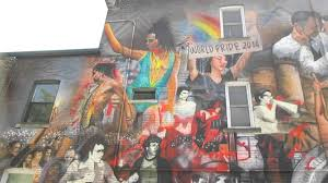 Big Ang Mural Staten Island by World Pride 2014 Church Street Toronto Big Mural Youtube