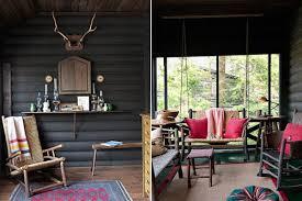 Modern Cabin Interior Design Rustic