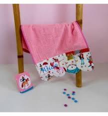 serviette de toilette pour bébé linge de bain bébé personnalisé