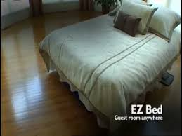 essential ez bed inflatable guest bed youtube