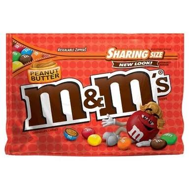 M&M's Peanut Butter Chocolate Candies - Sharing Size, 9.60oz