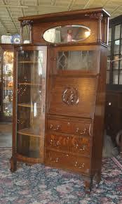 Vintage Tiger Oak Dresser by Antique Victorian 1890 U0027s Larkin Tiger Oak Side By Side Secretary