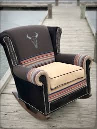 Western Rocking Chair Pendleton Fabric In 2019 | Rustic Rugs ... Living Room Western Fniture Company Adobeinteriorscom Outdoor Rocking Chairs Rockers Polywood Official Store Rustic Porch Chair From The Adrondacks At 1stdibs Montana Glacier Captains Outwest Vintage Used Antique For Sale Chairish Amberlog Wooden Rocker Glider Or Cushions Set In White Feathers On Grey Southwest Baby Nursery Dutailier Replacement Pad Upholstery Cowhide Fniture Decor Update A Diy Mommy Appalachian Latex Foam Fill Lodge Ding Highend