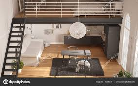 100 Minimalist Loft Scandinavian Minimalist Loft Oneroom Apartment With Gray