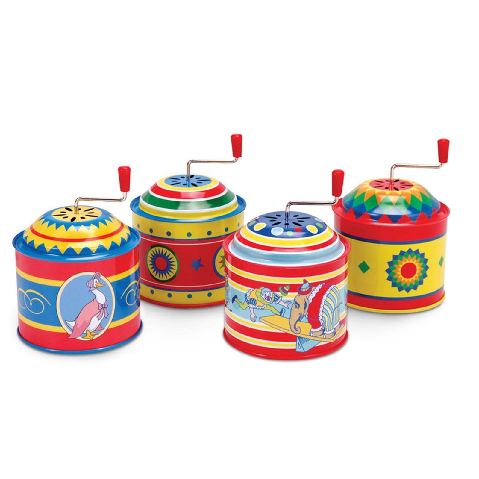 Schylling Tin Music Boxes Toy