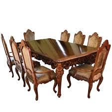 Antique Dining Room Set For Sale With Table Chairs Buffet Consoles Credenza