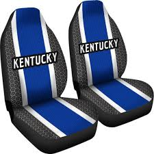 Kentucky Wildcats Inspired Sports Stripe Auto Seat Covers / SUV Seat ... Blue Black Car Seat Covers With Headrest For Auto Truck Stek Shop Complete Pu Leather Set Gray For Bestfh Sedan Suv Van Luxury Floor Mats And Covers Cover Men Diamond 2pc Universal Bdk 4piece Scottsdale Fabric Front Saddle Blanket Unlimited 47 In X 23 1 Full Cloth Fit Camouflage Pickup Built In Belt Hq Issue Tactical Cartrucksuv 284676 Browning 284675 Ford By Clazzio