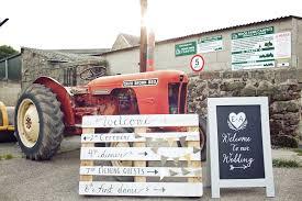 DIY Outdoor Wedding Ceremony Rustic Marquee Reception At Wood Farm