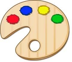 Painting Clipart Colour Palette 2