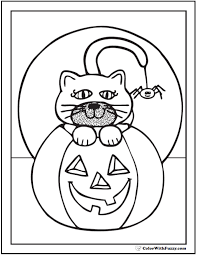Full Size Of Coloring Pagespretty Halloween Page Pdf Pages Large Thumbnail