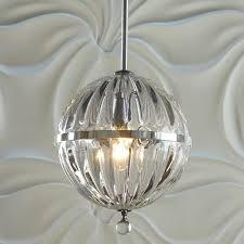 fluted glass globe pendant small shades of light