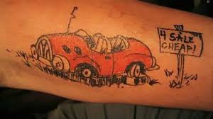 Wild Car-Themed Tattoos | AutoTRADER.ca 10 Funky Ford Tattoos Fordtrucks Just Sinners Semi Truck Trucks And Big Pinterest Semi Amazoncom Large Temporary For Guys Men Boys Teens Cartoon Of An Outlined Rig Truck Cab Royalty Free V On Beth Kennedy Tattoo Archives Suffer Your Vanity Turbocharger Part 2 Diesel Tees Ldon Tattoo Cvention Vector Abstract Creative Tribal Briezy Art Full Of Karma Funny Jokes From Otfjokescom Sofa Autostrach