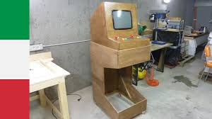 Mame Arcade Machine Kit by Homemade Arcade Machine Stand Youtube