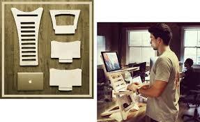 HumbleWorks Portable and Adjustable Standing Desk
