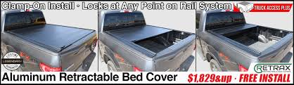 RetraxPRO MX Retractable Truck Bed Cover - Truck Access Plus