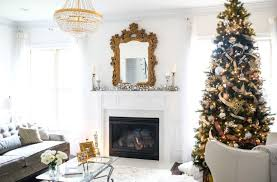 CHRISTMAS TREE WITH SILVER GOLD ORNAMENTS