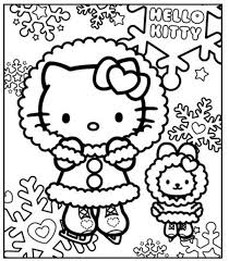 Disney Winter Coloring Pages