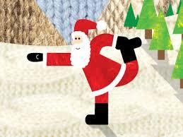 Santa Is A Yoga Dancer