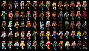 A huge collection of some of the Minecraft skins I ve made the