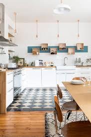 cuisine ouverte sur s駛our decoration interieur cuisine americaine cour arrière
