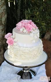 Ruffle Wedding Cake Weddingcake Bne Brisbane Goldcoast Sunshinecoast