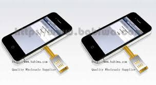 2 Simcard for Apple Iphone 4s Genuine Q Series Dual Sim Card