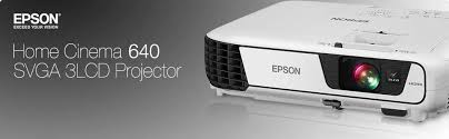 epson v11h801020 home cinema 640 svga 3lcd home theater projector