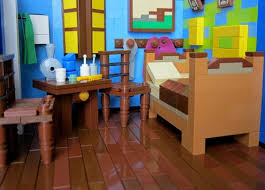 Savage Gerbils Bedroom at Arles A LEGO creation by Alex Mac