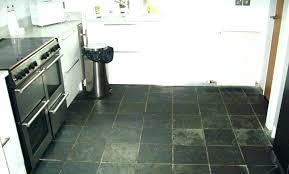 Cleaning Slate Floors Floor Tiles Kitchen Black