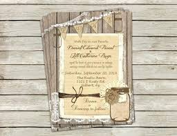 Diy Rustic Wedding Invitations Burlap Do It Yourself And Lace Cheap