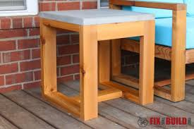 2x4 Wood Projects Fix This Build That Outdoor Side Table