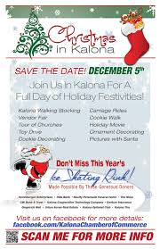 Christmas in Kalona event promotional flyer Iowa City Cedar