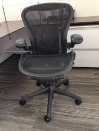 Aeron Chair Used Nyc by Used Aeron Chairs Used Herman Miller Aerons