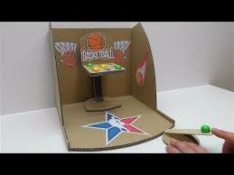 How To Make A Game Basketball From Cardboard Desktop