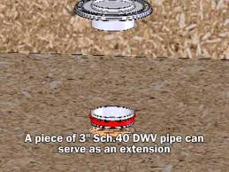 Sioux Chief Floor Drain Extension by Sioux Chief Closet Flange Family Animation Youtube