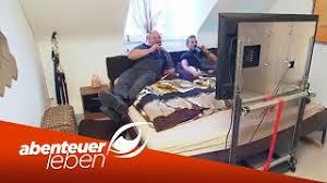 underneath bed tv lift zum nachmachen so sparst du platz abenteuer leben kabel eins
