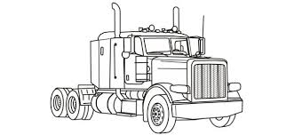 Innovative Ideas Semi Truck Coloring Pages Free Printable Holidays For April 2010