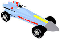 Wars X Wing Fighter INSTANT DOWNLOAD pinewood derby design plan