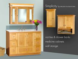 Tall Bathroom Cabinets Menards by Bathroom Cabinets Made In The Usa Simplicity By Strasser Woodenworks