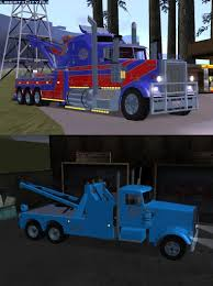 Kenworth Towing Services For GTA San Andreas