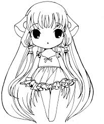 Fancy Coloring Pages Of Anime Characters 66 On Picture Page With