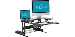 Humanscale Standing Desk Converter by Adjustable Standing Desk Dual Monitor Medium Size Of Deskssit To