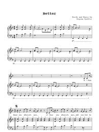Folding Chair Regina Spektor Chords by Regina Spektor Better Sheet Music