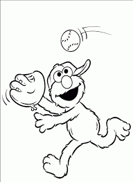 Free Printable Coloring Pages For Elmo