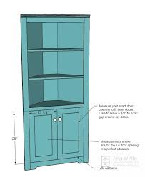 Corner Cupboard Plans And Instructions Very Similar To One I Have In My Dining Room But Less Ornate