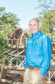 Busch Gardens Williamsburg President David Cromwell is on the Ride